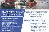 USŁUGI TRANSPORTOWE/TRANSPORT/ SPEDYCJA/ LOGISTYKA